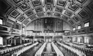 Der große Festsaal, 1912© Stadtgeschichtliches Museum Leipzig