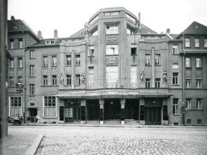 Fassadenansicht um 1913 © Stadtgeschichtliches Museum Leipzig