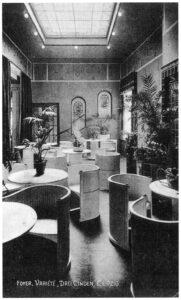 Seitenfoyer um 1920 © Stadtgeschichtliches Museum Leipzig