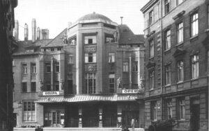 Außenansicht, 1946 © Stadtgeschichtliches Museum Leipzig