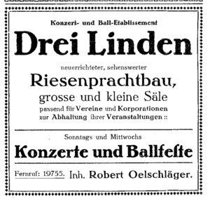 www.altes-leipzig.net_Festsäle Drei Linden 1912 Werbung