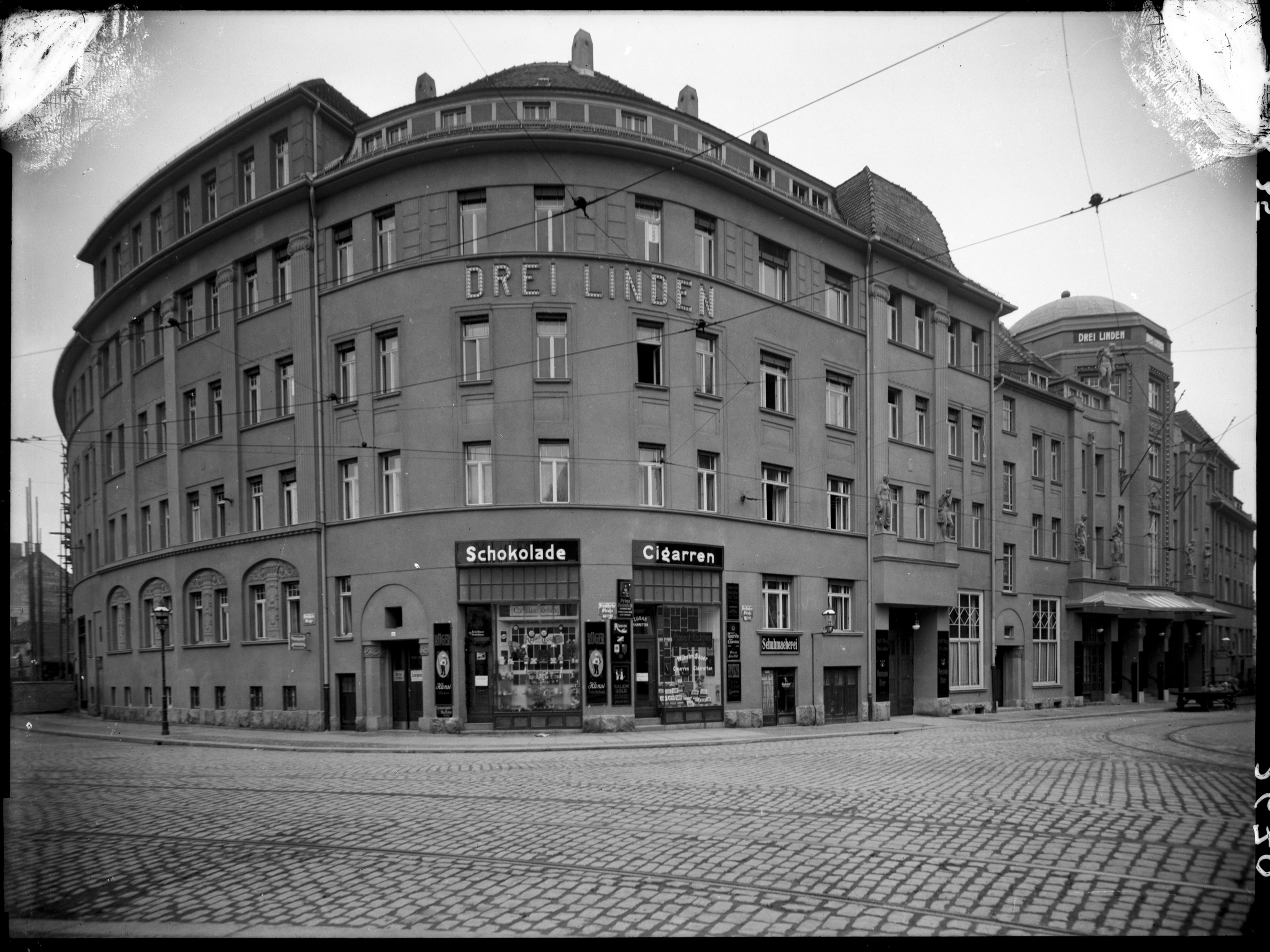 Gebäudekomplex »Drei Linden«